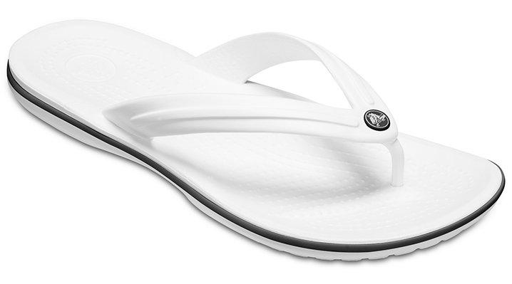 Crocs Crocband™ TeenSlippers Unisex White 36
