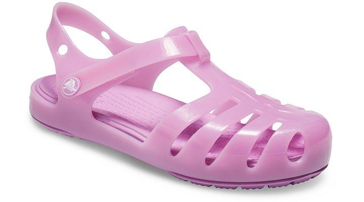 Sandales Isabella pour enfants : Sandales de gel de Crocs