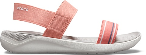 Women's LiteRide™ Sandal in Melon/White.