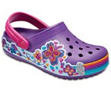 Kids' Crocband™ Fun Lab Graphic Clogs