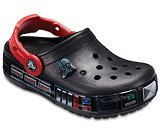 Kids' Crocband™ Fun Lab Darth Vader™ Lights Clogs