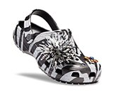 Christopher Kane x Crocs Black & White Tiger Clogs