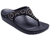 Women's Crocs Sloane Beaded Flips