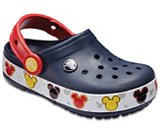 Kids' Crocband™ Mickey Mouse Fun Lab Lights Clog