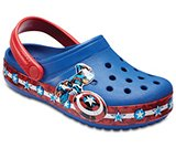 Kids' Crocband™ Fun Lab Captain America™ Clogs