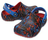 Zuecos Crocs Fun Lab Spider-Man™ para niños