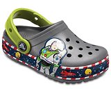 Kids' Crocband™ Fun Lab Buzz Lights Clogs