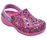 Kids' Baya Graphic Clog