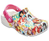 Kids' Crocs Fun Lab Disney Princesses Clog