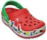 Kids' CrocsLights Holiday Clog