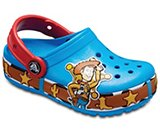 Kids' Crocband™ Fun Lab Woody Lights Clog