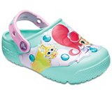 Kids' Crocs Fun Lab Shimmer & Shine™ Lights Clogs