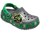 Kids' Crocband™ Fun Lab Teenage Mutant Ninja Turtles™ Lights Clogs