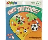Soccer Field Shoe Tattoos