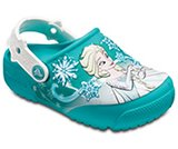Zuecos Crocs Fun Lab Frozen™ Lights para niños