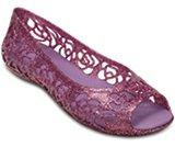 Crocs Isabella Glitter Flat (juniors')