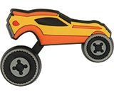 vroom speed car rotating